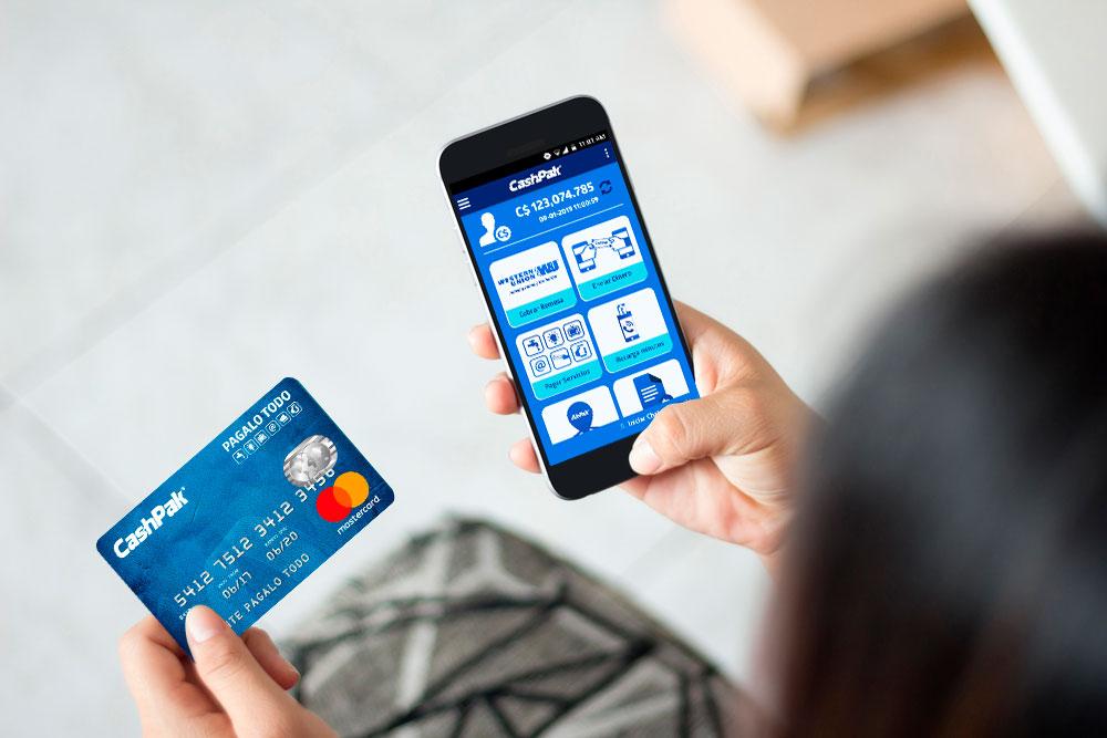 Tarjeta CashPak y Billetera CashPak