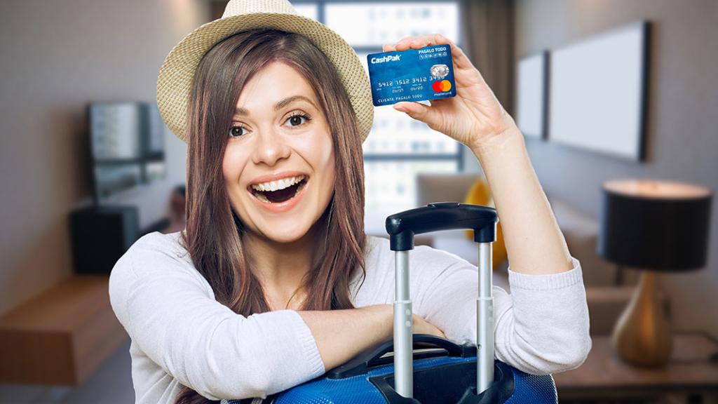 CashPak para uso internacional
