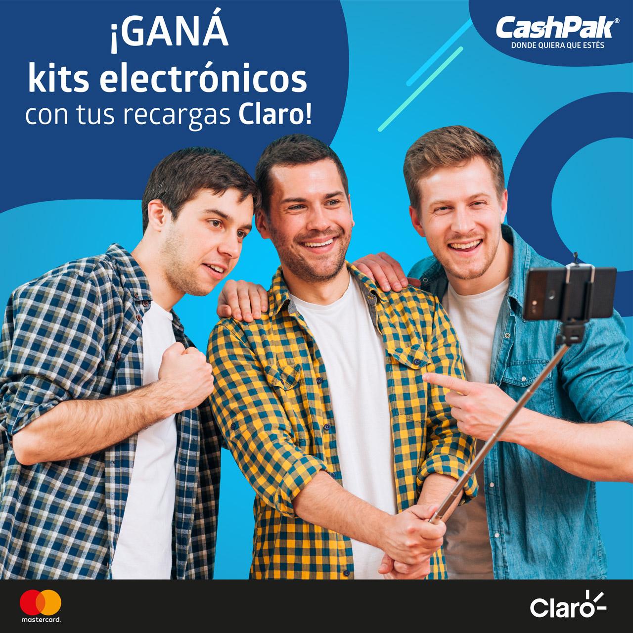 """Promoción: """"Recarga con CashPak"""""""