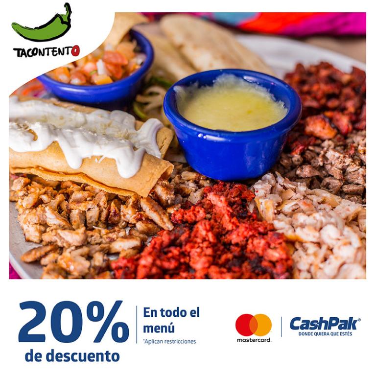 CashPak 10% de descuento en Tacontento