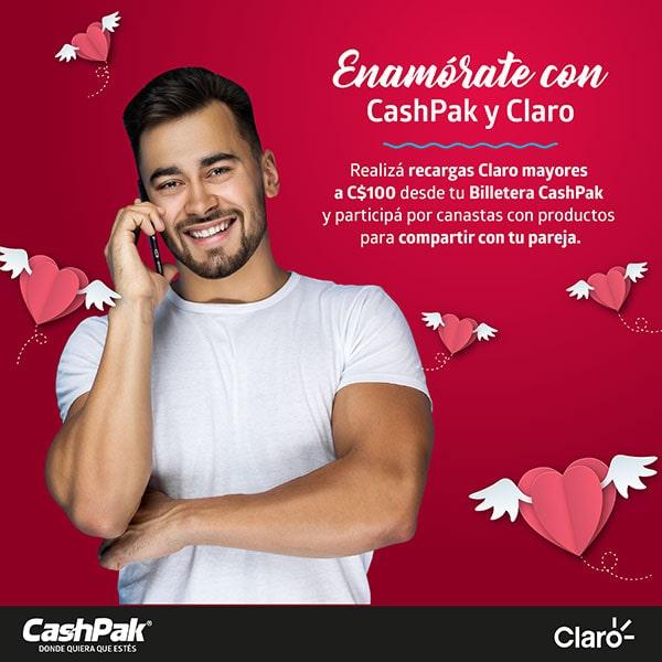 Enamórate con CashPak y Claro
